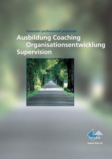 Ausbildung Coaching Organisationsentwicklung Supervision