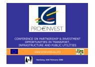 Introduction Pro€Invest Investment Conferences - Paolo Baldan