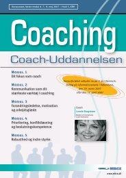 Coach-Uddannelsen - MBCE