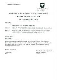 Protokoll fra møte 06.05.13 - Sandnes Kommune