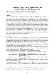Geologische Verhältnisse in administrativen und ... - Die GIL