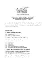 Studienordnung Humanmedizin (Stand 21.02.2005) - Medizinische ...