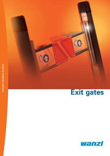 Exit gates - Expedit