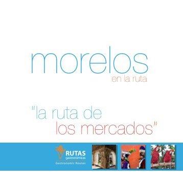 folleto morelos - Rutas Gastronómicas - Sectur
