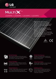 View LG MultiX Solar Module - Fairlane Green