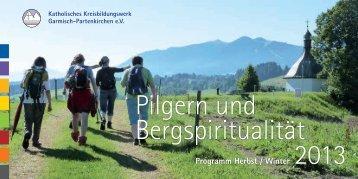 Programm Herbst/Winter 2013 (PDF) - Kreisbildungswerk Garmisch ...