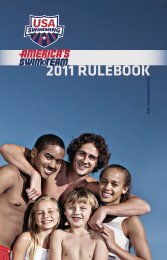 2011 Rulebook - USA Swimming