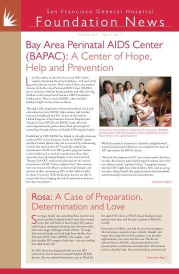 Foundation News - San Francisco General Hospital Foundation