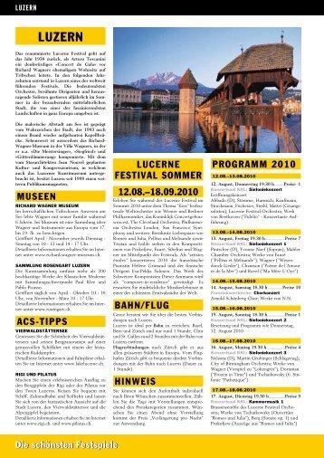 Luzern - ACS-Reisen