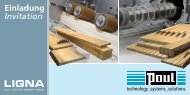 Einladung Invitation - PAUL Maschinenfabrik GmbH & Co. KG