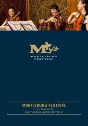 MORITZBURG FESTIVAL - Dr. Sebastian Urmoneit