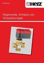 Regelventile, Antriebe und Temperaturregler