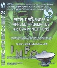 Recent Advances in Applied - Wseas.us