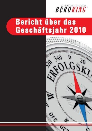 Büroring Geschäftsbericht 2010 - BMC-Marketing