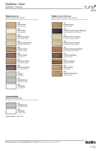 Farben & Materialien [PDF] - Leuwico