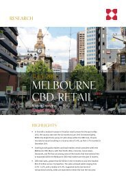 Melbourne CBD Retail Market Overview - Knight Frank
