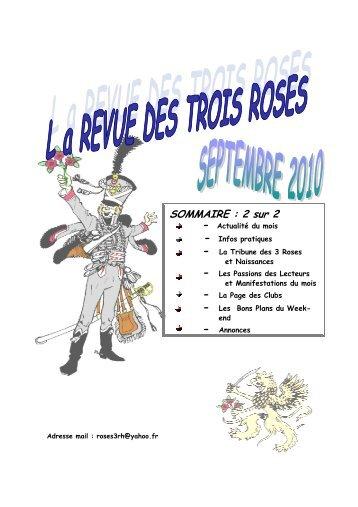 3 Roses septembre 2 sur 2 - Immendingen