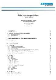 GMM Global Meter Manager Benutzerhandbuch - Zenner