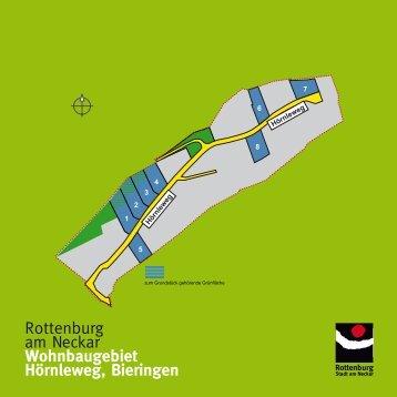 Wohnbaugebiet Hörnleweg, Bieringen - Wir bauen auf Rottenburg