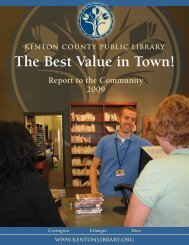 The Best Value in Town! - Kenton County Public Library