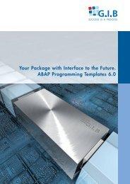 Your Package with Interface to the Future. ABAP Programming ...