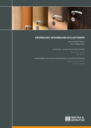 ERgänzung WohnRaum-KoLLEKTIonEn