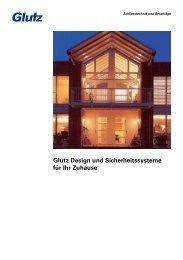 Glutz Design und Sicherheitssysteme für Ihr Zuhause