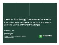 Cooperation Conference - Asia Pacific Foundation of Canada