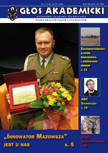"""""""innowator mazowsza"""" jest u nas - Wojskowa Akademia Techniczna"""