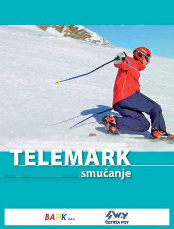 Telemark smučanje - Modra kartica