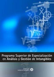 Programa Superior de Especialización en Análisis y Gestión ... - Aeca