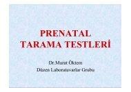 PRENATAL TARAMA TESTLERİ - Düzen Laboratuvarlar Grubu