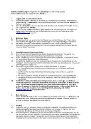 Datenschutzerklärung (im Folgenden die ... - Musikmarkt Online