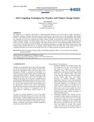 Soft Computing Techniques for Weather and Climate Change Studies