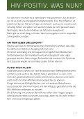 eine hiv-infektion - Lübecker AIDS-Hilfe e.V. - Page 7