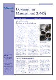 Dokumenten Management (DMS) - TechConsult