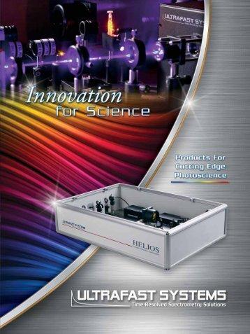 UFS Brochure - Spectrometers