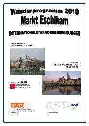 (PDF) Wanderprogramm 2010 - Marktgemeinde Eschlkam