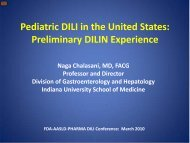 Pediatric DILI in the United States: Preliminary DILIN ... - AASLD
