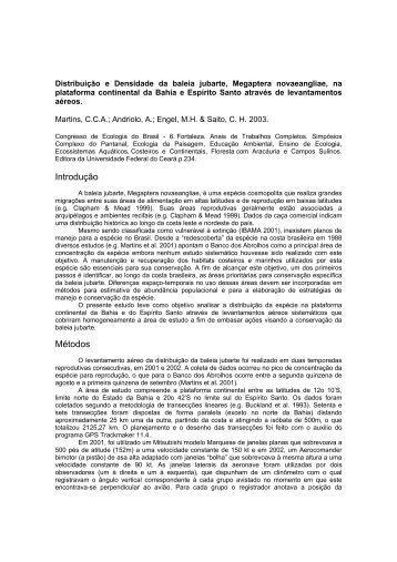 MARTINS, C. C. A.; ANDRIOLO, A. - CAR-SPAW-RAC
