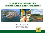Preem – framtidens bränsle och klimatneutrala ... - KNEG