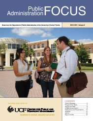 Public Administration Focus - June 2011 - College of Health and ...