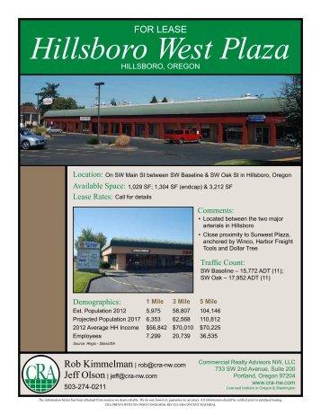 Hillsboro West Plaza - Cra-nw.com