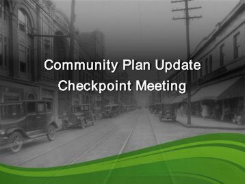 Community Plan Update Checkpoint Meeting - City of Hampton ...