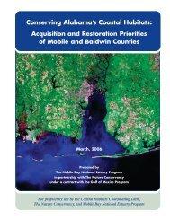 Conserving Alabama's Coastal Habitats - Mobile Bay National ...