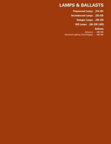 Lamps & Ballasts - HD Supply