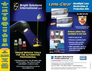 Headlight Lens Restoration & Protection Kits - MOTOR Information ...