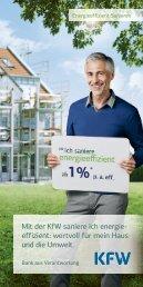 Energieeffizient Sanieren - VR Bank Kitzingen eG
