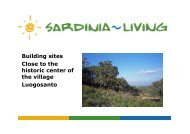 Building sites Close to the historic center of the ... - Sardinia Living