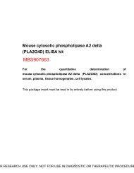 (PLA2G4D) ELISA Kit - MyBioSource